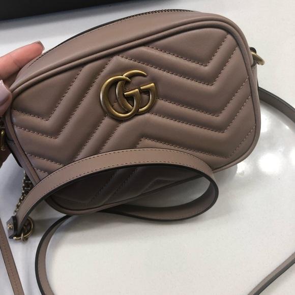 a9d86095ae9 Gucci Marmont Matelasse mini bag